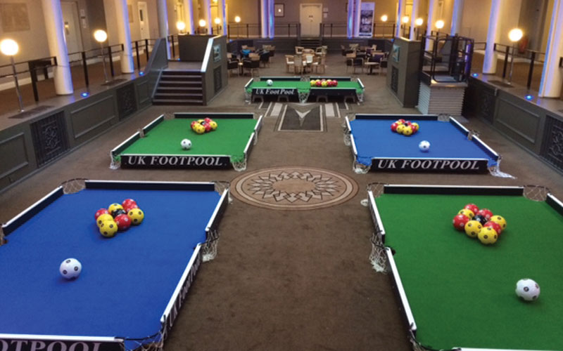 Beau What Is FootPool ?   The Creators And Leading Suppliers Of FootPool Tables